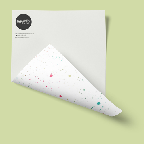 small business creative stationery packages